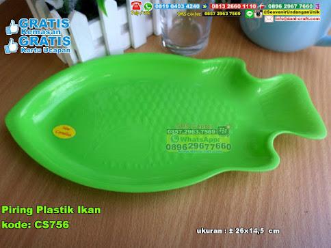 Piring Plastik Ikan