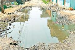 बोदला में स्वच्छ भारत का सपना बना नर्क