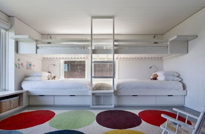 cama con litera para 4