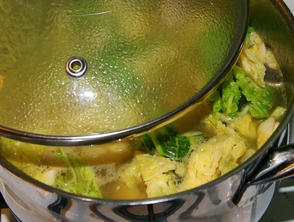 Zupy jarzynowe z kasza jaglaną na ostrą nutę:)