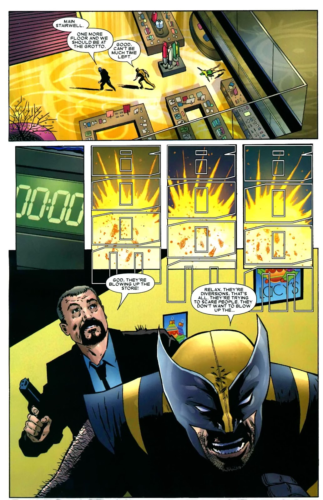 Read online Wolverine (2003) comic -  Issue #49 - 23