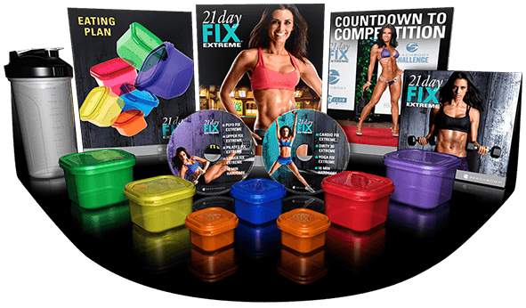 21 Day Fix Extreme, 21 Day Fix Extreme challenge pack, 21 day fix