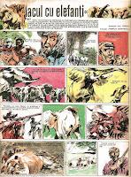 bd benzi desenate lacul cu elefanti mihai tican rumano pompiliu dumitrescu desene revista cutezatorii comics romania