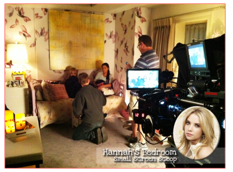 the lovely side hanna 39 s room pretty little liars decor