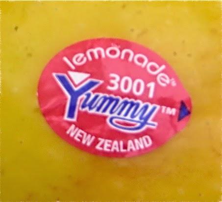 Lemonade plu sticker