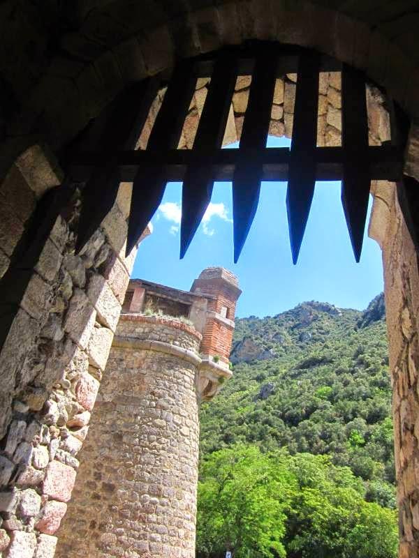 Comtal Gate in Villefranche de Conflent