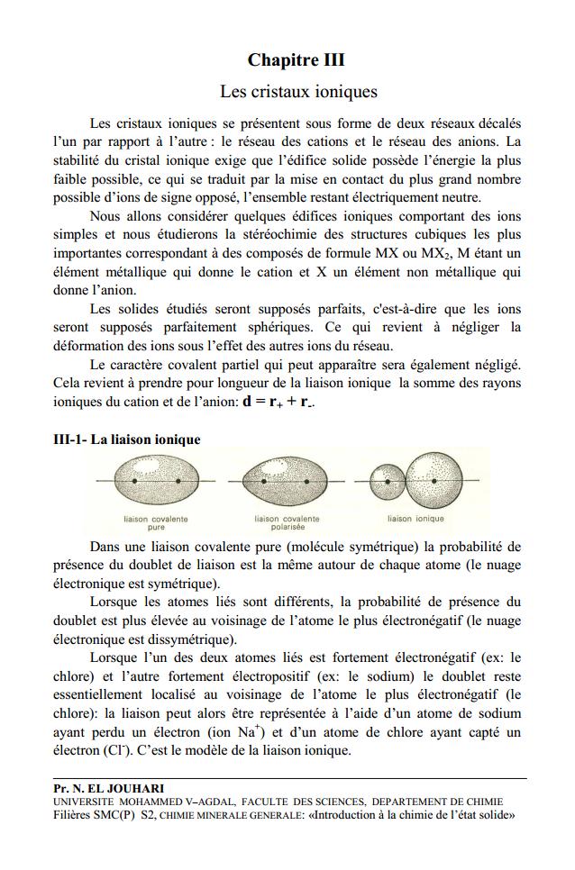 cristallographie smc s4