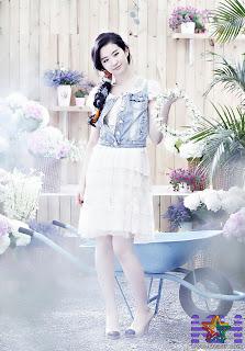 Cute actress Liu Yifei