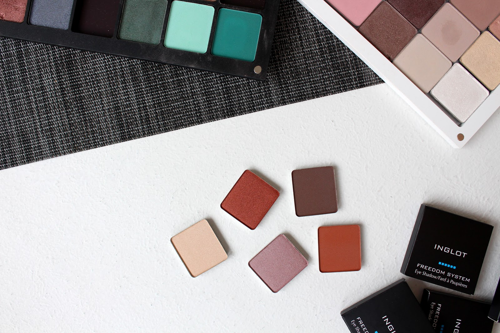Inglot Eye Shadow Review and Swatches