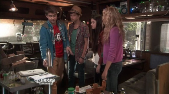 Best friends whenever season 1 episode 8 back to the future lab