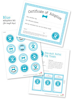 Free Printable Pet Adoption Kit