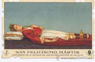 Santa Gema Galgani / San Felicísimo Martir S-XX 15364736