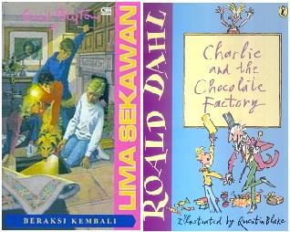 Contoh Buku Anak-anak Berunsur Fiktif
