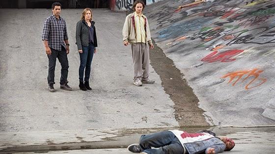 Nick Tompkins, Nancy Tompkins y Sean Cabrera  los personajes de FearThe Walking Dead