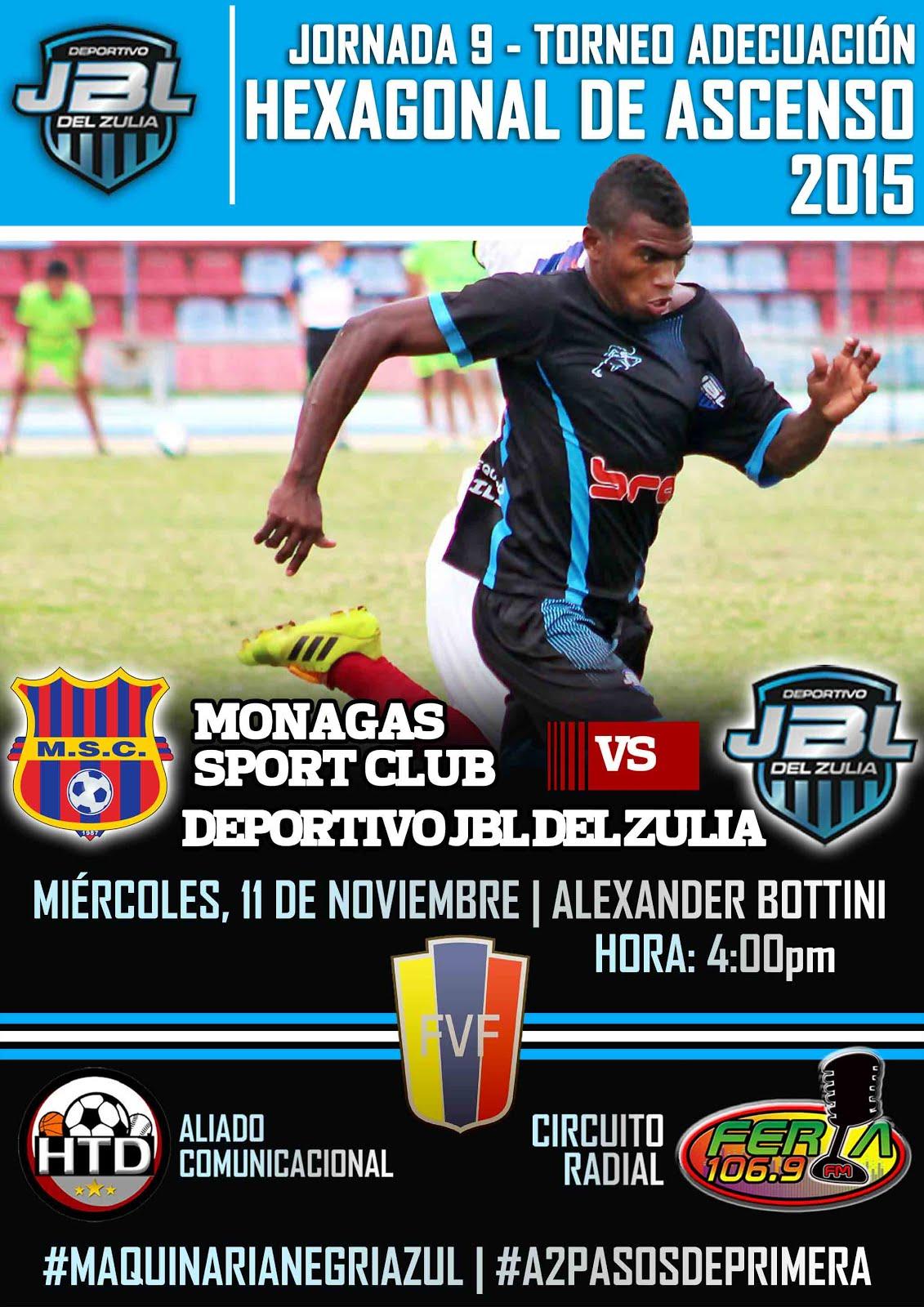 J9 Hexagonal Victoria 2-0 de Monagas SC