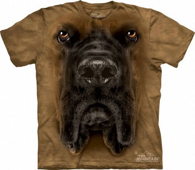 t-shirt designs of animal's face