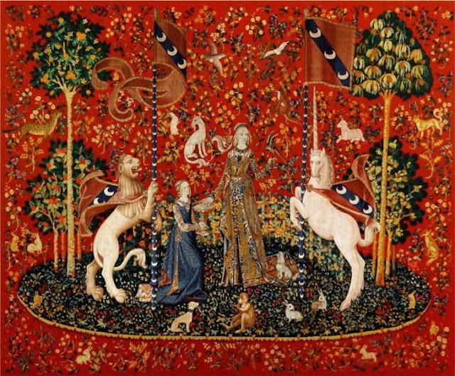 tapiz medieval