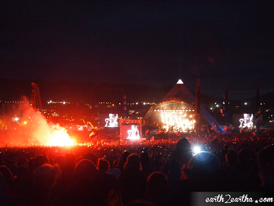 Mumford at Glastonbury 2013