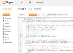 Blogger sito ottimizzato personalizzato