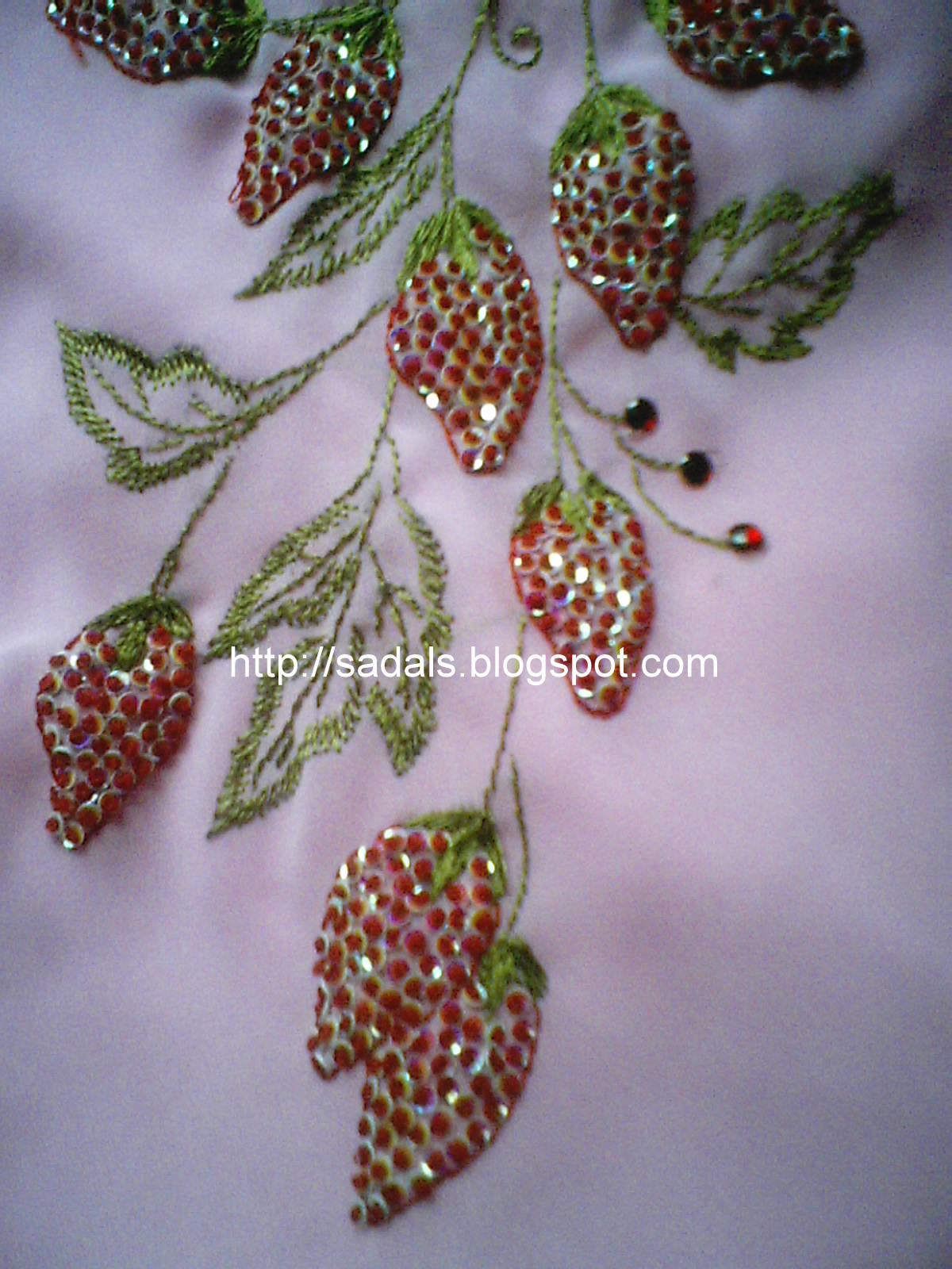 Sadala39s Embroidery Tutorial Indian Version Of French Knots
