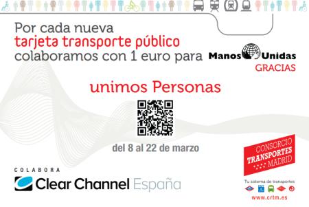 Nosolometro la comunidad impulsa la donaci n de un euro for Oficinas del consorcio de transportes de madrid puesto 2