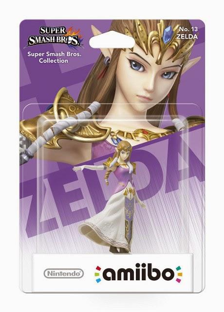 JUGUETES - NINTENDO Amiibo - 13 : Figura Zelda | Princesa   (19 diciembre 2014) | Videojuegos | Muñeco | Super Smash Bros Collection  Plataforma: Wii U & Nintendo 3DS