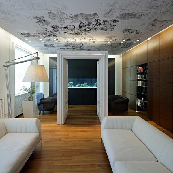 casas minimalistas y modernas opciones en cielorrasos