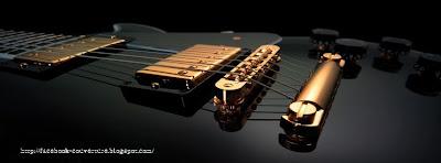 image couverture facebook guitare électrique