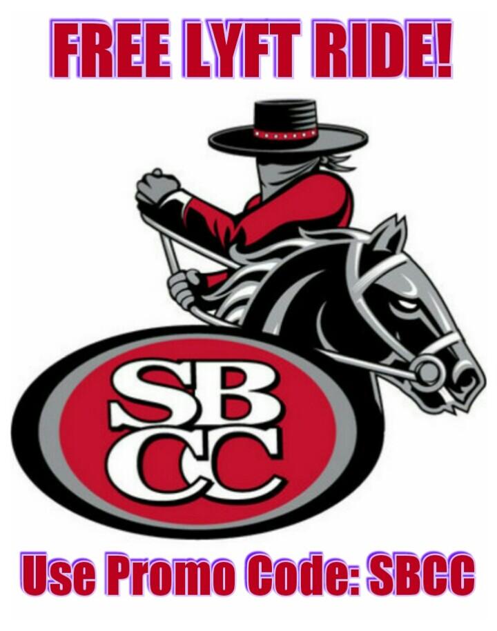 Santa Barbara LYFT Promo: SBCC