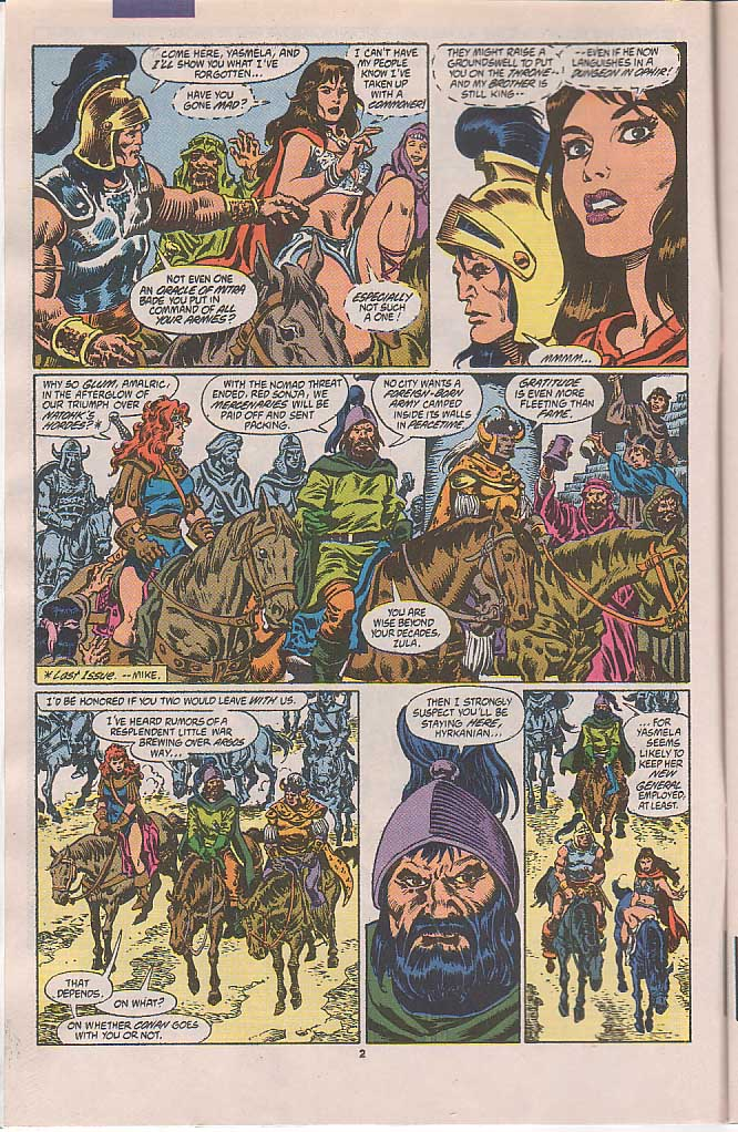 Conan the Barbarian (1970) Issue #250 #262 - English 3