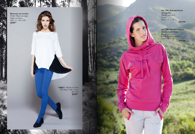 buzo para mujer con capucha invierno 2013