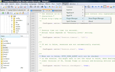 Add Project Explorer To Notepad++