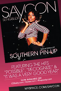 "Saycon&#39;s ""Southern Pin-Up"" EP on Itunes"