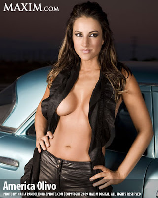 America Olivo hot sexy for Maxim magazine Photos - Beautiful Female Photos