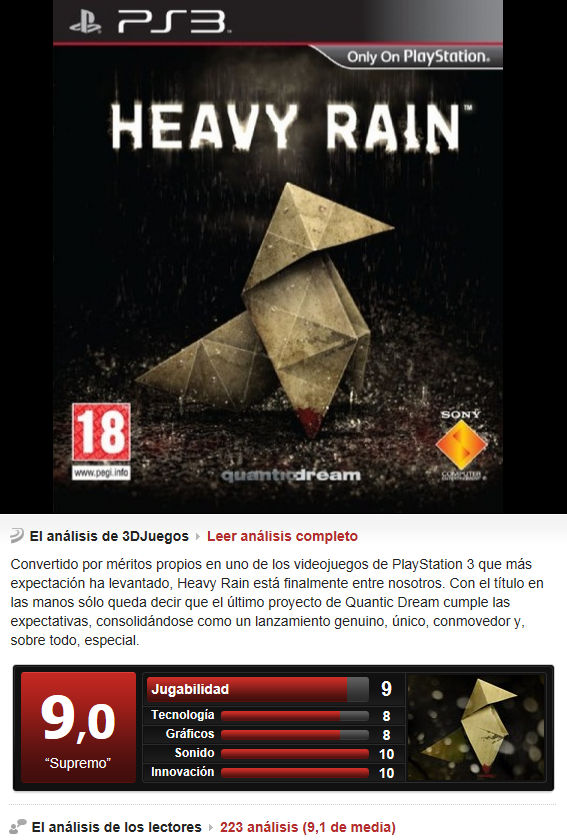 Heavy Rain [PS3][Multi][3.55]