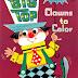 Livro para Colorir - Circo e Palhaços