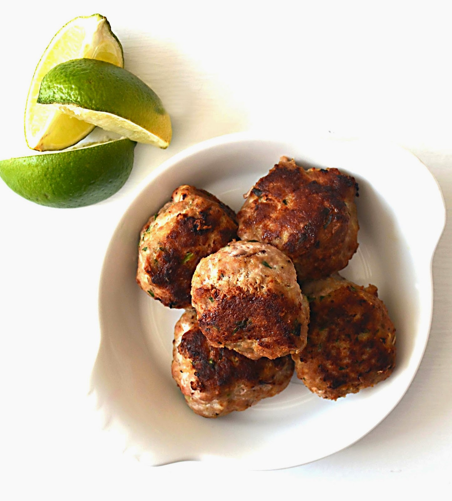 Sew French: Greek Turkey Meatballs