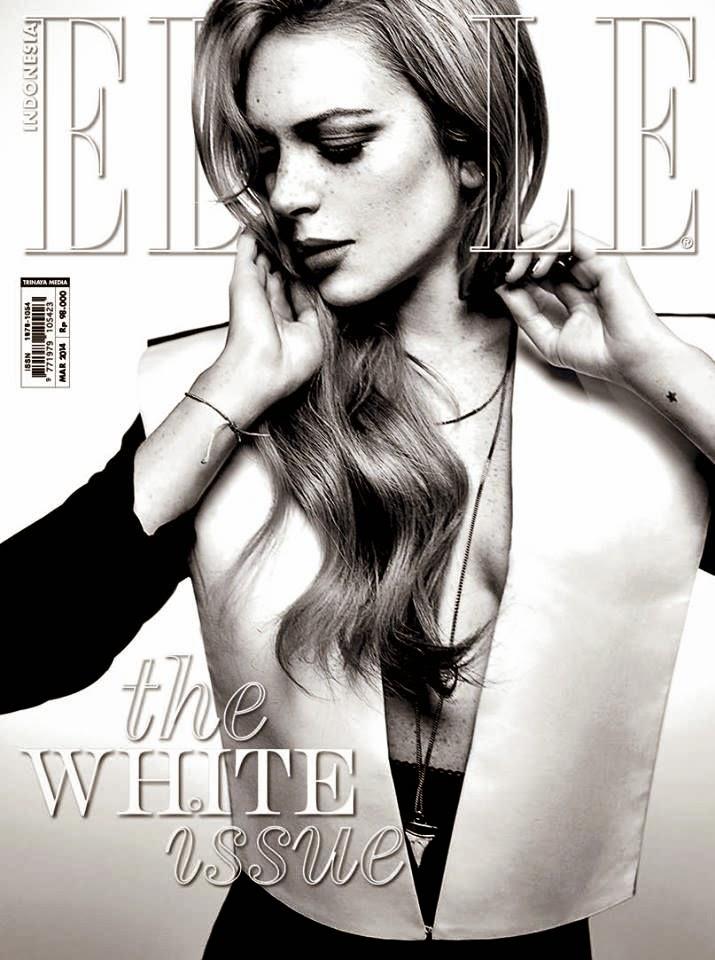 Lindsay Lohan - Elle Magazine Indonesia, March 2014