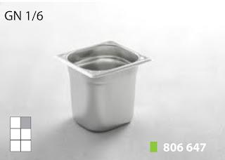 Recipente Gastronomice. Accesorii pentru Dotari HoReCa, Tava GN 1/6 Inox, Cuva GN1/6 Inox, Vaschete Gastronorm GN 1/6 Inox, Recipiente Inox pentru Bucatarii Profesionale, Pret