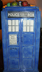 Wash's TARDIS urn