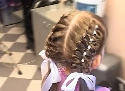 Детские прически плетения