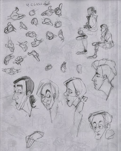 Character Design From Life Drawing : Schmidty characters life drawing week various