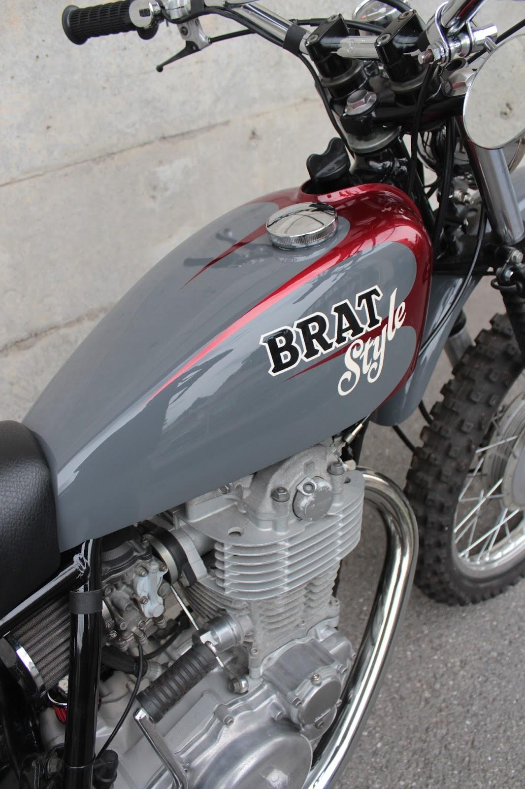 Rising Jack Kustoms Yamaha Sr 500 Vmx Brat Style