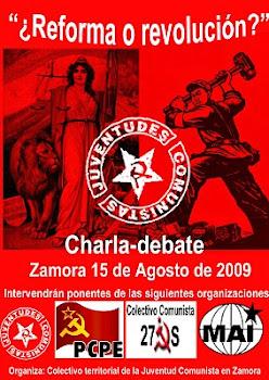 Charla-debate: Reforma o Revolución