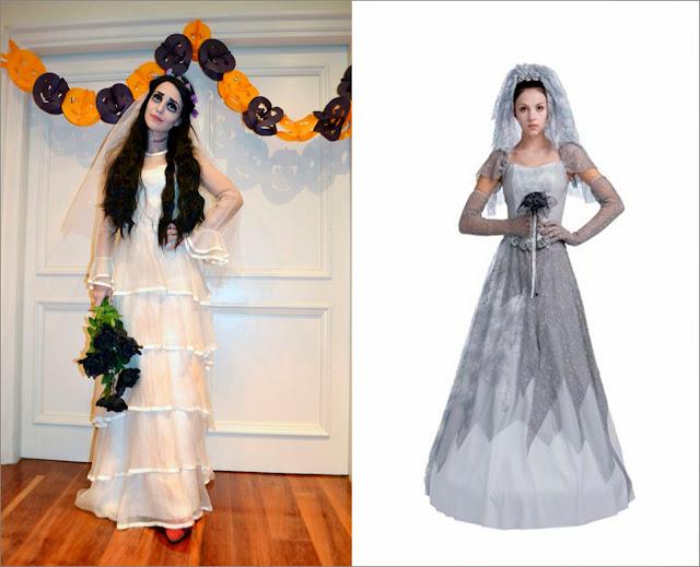 Paula Echevarría disfraz novia cadáver y, disfraz novia cadáver
