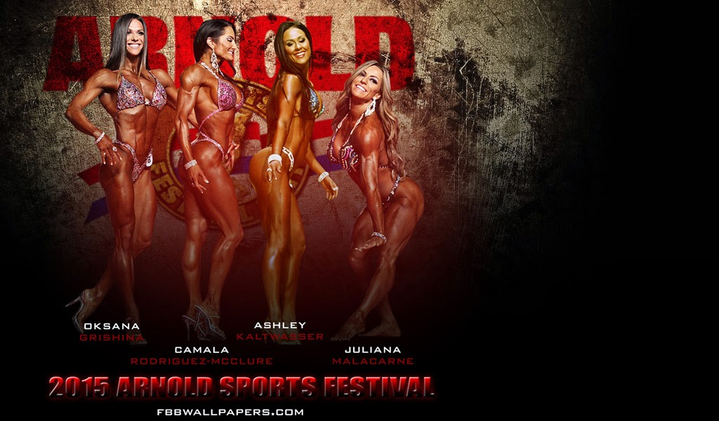Winners at the Arnold Sports Festival 2015