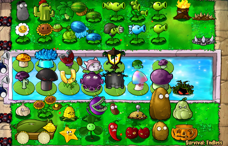 Plantas vs zombies español full