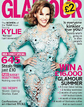 GLAMOUR COVER FOR JULY