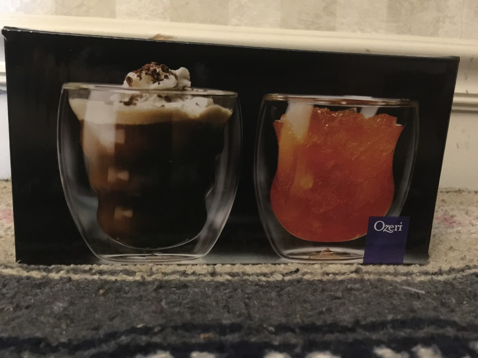 Curva Artisan double wall glasses Review