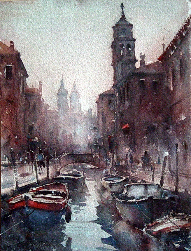 Dusan Djukaric amazing watercolor painting ~ art craft projects
